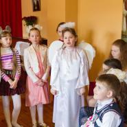 Пасхальный утренник в Воскресной школе 2017