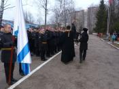 Присяга в гарнизоне Остафьево
