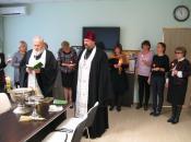Визит духовенства Храма Троицы Живоначальной в Остафьеве в школу в Родниках