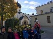 Поездка в Марфо - Мариинскую обитель учащихся Воскресной Школы