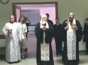 Молебен о здравии в школе Остафьево