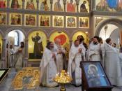 Богослужение в храме Живоначальной Троицы в Троицке
