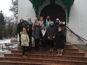 Встреча духовенства с учениками и педагогами школы 2083