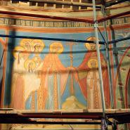 Роспись центральной части Храма