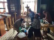 Подготовка к Празднику Светлой Пасхи - 30-му после возрождения Храма