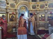Награждение клирика храма о.Сергия орденом Преподобного Серафима Саровского